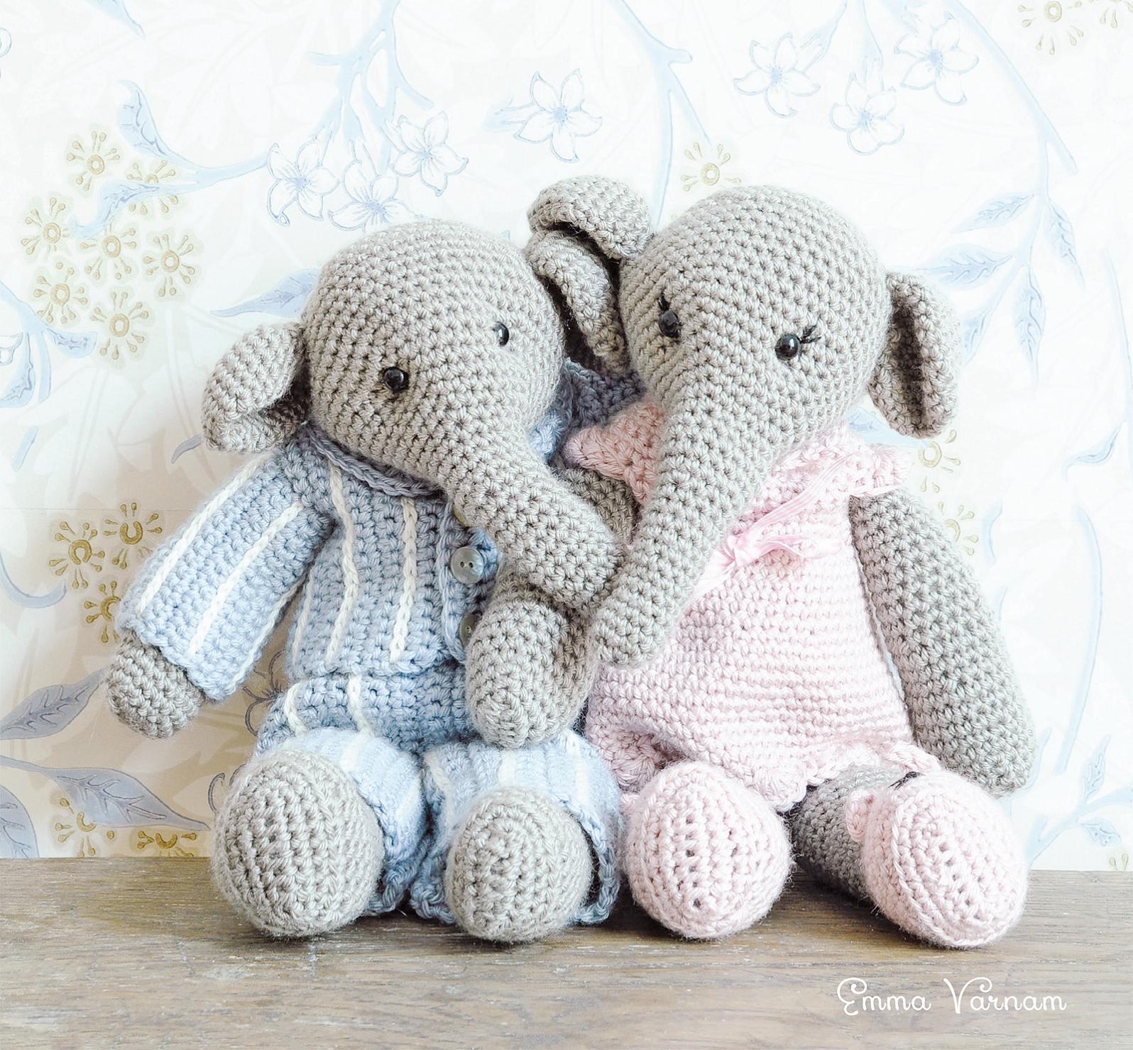 Gustav, Elephant Amigurumi Free Pattern – Free Amigurumi Patterns in 2020 | Crochet  elephant pattern, Crochet bear patterns, Crochet elephant pattern free | 1480x1596
